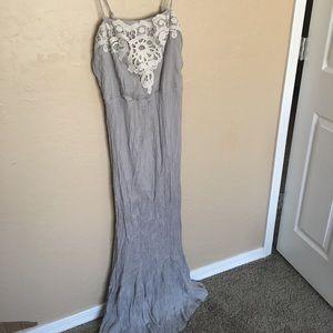 LC Lauren Conrad Grey Dress